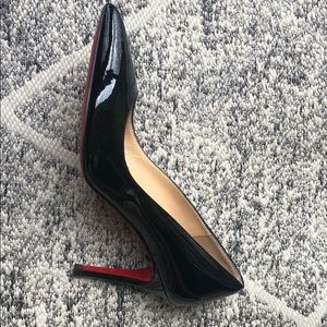 Gently wore Christian Louboutin shoes.